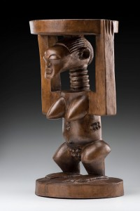 Songye Prestige Stool Democratic Republic of the Congo