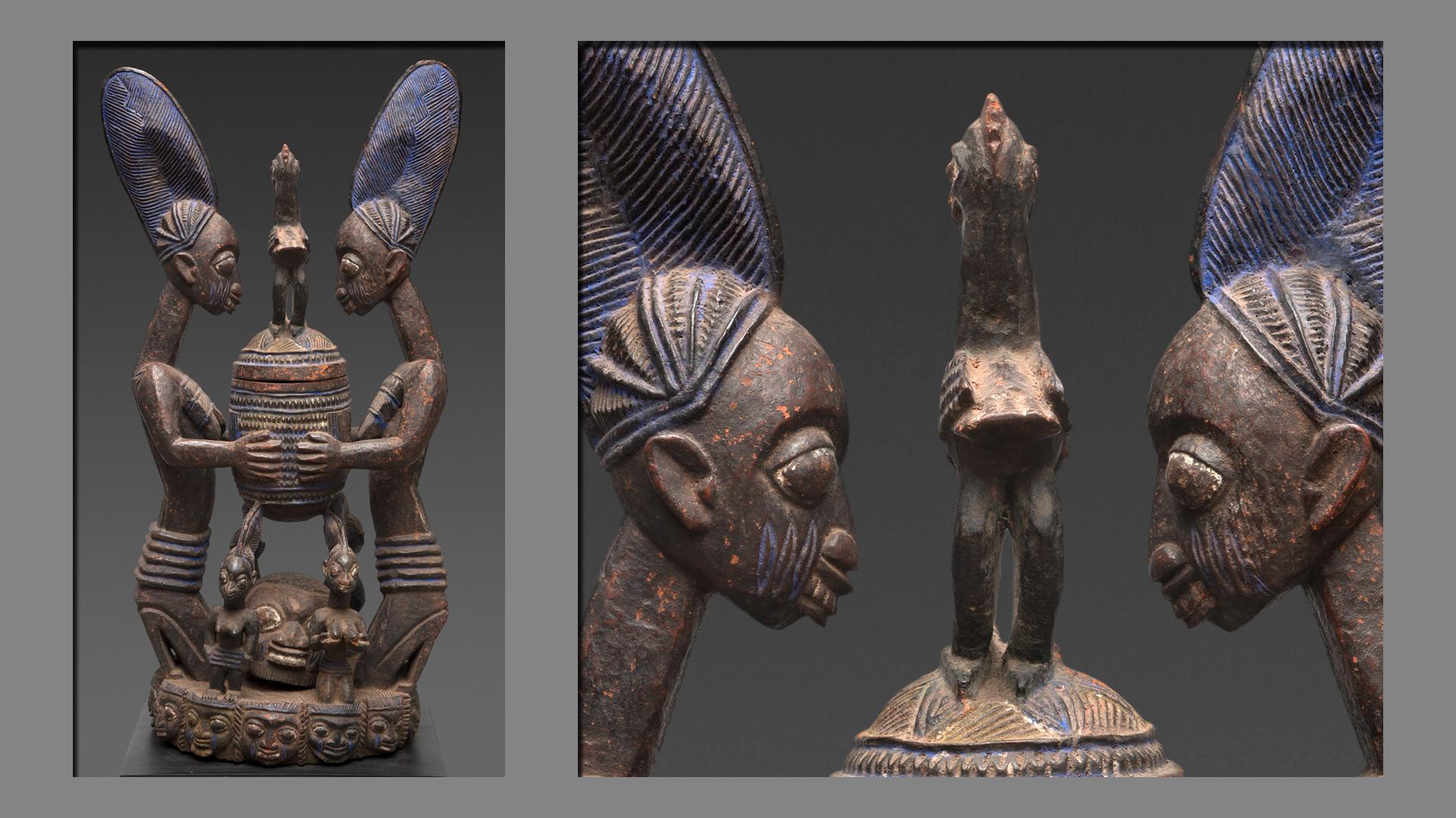Image result for yoruba sculptor images