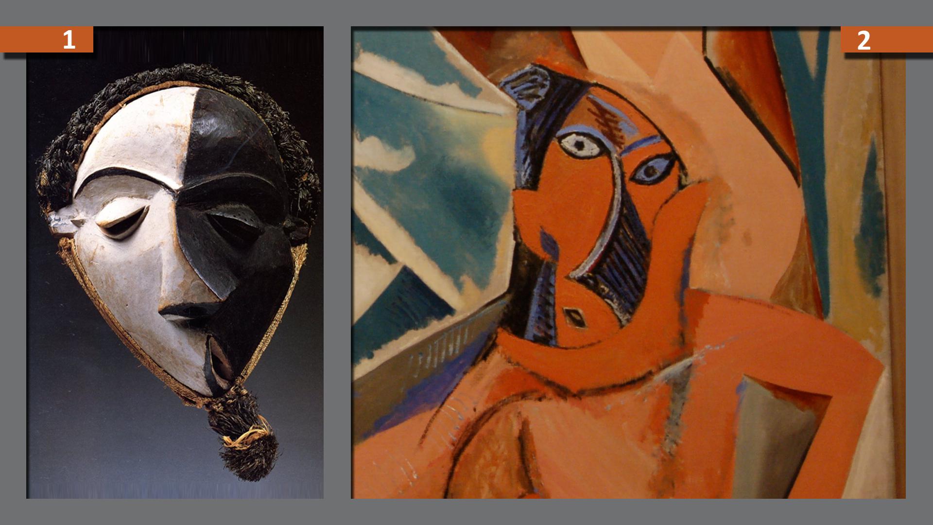 art africain et picasso